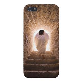 Resurrección del caso del iPhone del Jesucristo iPhone 5 Carcasas