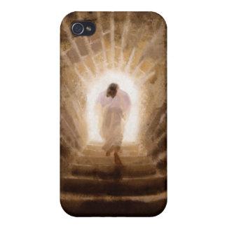 Resurrección del caso del iPhone del Jesucristo iPhone 4/4S Carcasa