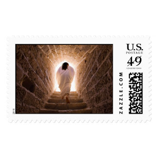 Resurrección del franqueo del Jesucristo (grande) Sellos