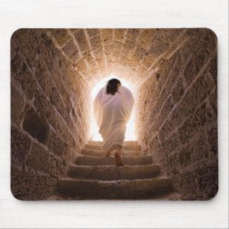 Resurrección del Jesucristo Alfombrillas De Raton
