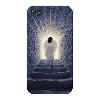 Resurrección del Jesucristo iPhone 4 Carcasas