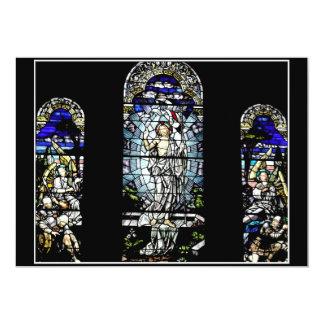 """Resurrección del vitral de Jesús Invitación 5"""" X 7"""""""