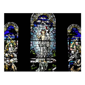 Resurrección del vitral de Jesús Postales