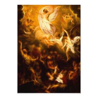 """Resurrección increíble de Jesús Invitación 5"""" X 7"""""""