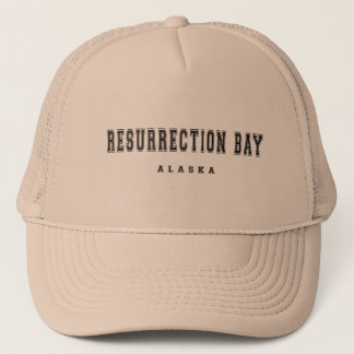 Resurrection Bay Alaska Trucker Hat
