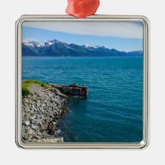 Resurrection Bay Metal Ornament