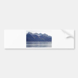 Resurrection Bay Scene Bumper Sticker