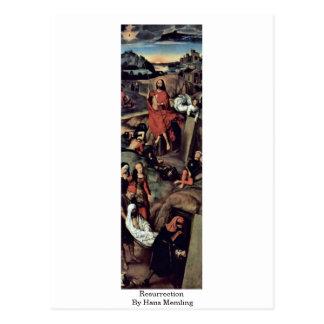 Resurrection By Hans Memling Postcard