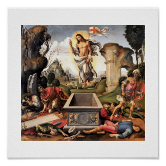 Resurrection  c1510 print