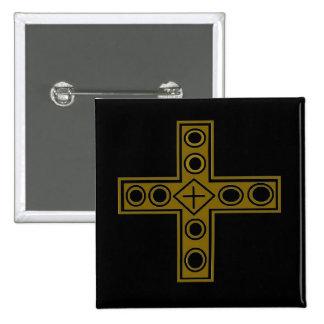Resurrection Cross Button