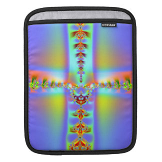 Resurrection Cross Fractal iPad Sleeve