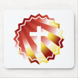 Resurrection: Empty cross Mouse Pad