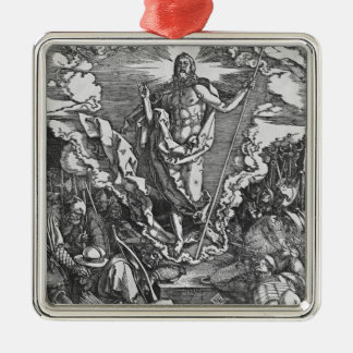 Resurrection, from 'The Great Passion' series Metal Ornament