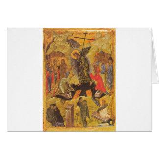 Resurrection Icon Card