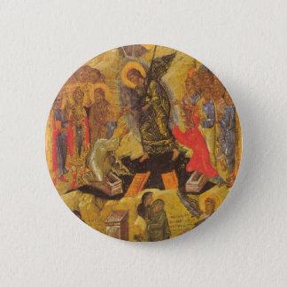 Resurrection Icon Pinback Button