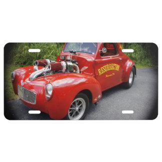 Resurrection License Plate