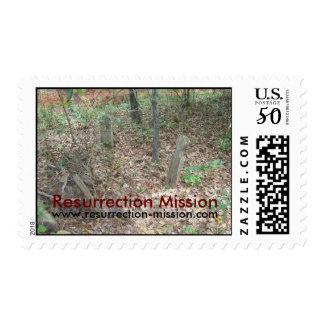 Resurrection Mission Postage stamp