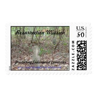 Resurrection Mission Postage stamps