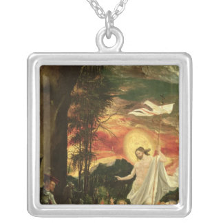 Resurrection of Christ, 1518 Silver Plated Necklace
