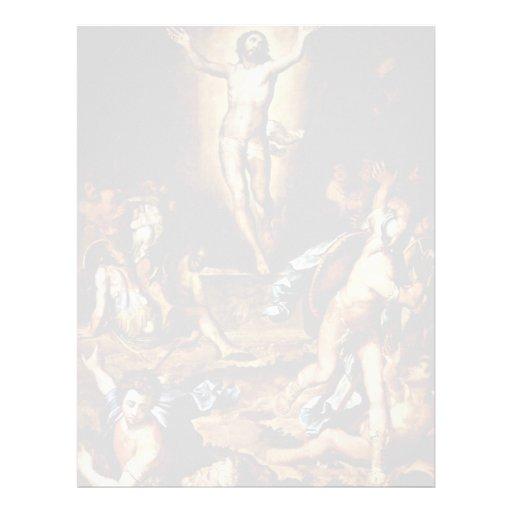 Resurrection Of Christ By Pino Marco Dal (Best Qua Letterhead