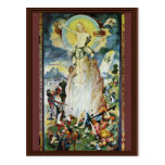 Resurrection Of Christ By Ratgeb Jerg (Best Qualit Postcards