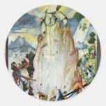 Resurrection Of Christ By Ratgeb Jerg (Best Qualit Round Sticker
