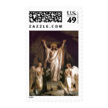 Resurrection of Christ . Fine Art  Postage Stamps Postage Stamp