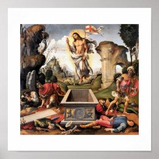 Resurrection of Christ Poster