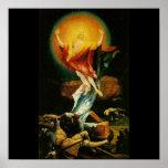 Resurrection of Christ - Poster - Black background