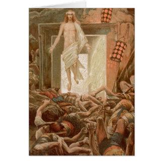Resurrection of Jesus Christ, by James Tissot Greeting Card