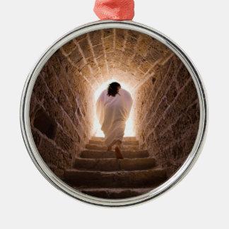 Resurrection of Jesus Christ Metal Ornament
