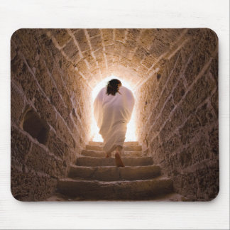 Resurrection of Jesus Christ Mouse Pad