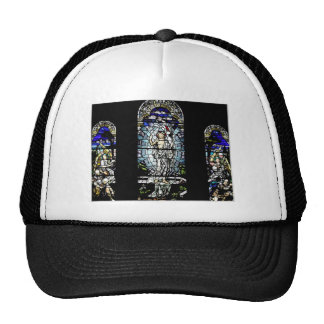 Resurrection of Jesus Stained Glass Window Hats