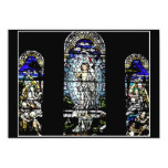 Resurrection of Jesus Stained Glass Window 5x7 Paper Invitation Card