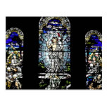 Resurrection of Jesus Stained Glass Window Postcard