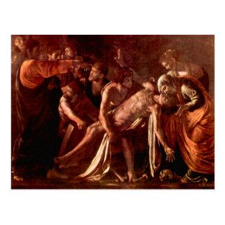 Resurrection of Lazarus by Caravaggio Postcards