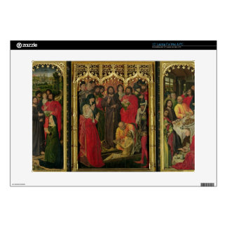 Resurrection of Lazarus Triptych; The Raising of L Laptop Decal