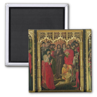Resurrection of Lazarus Triptych; The Raising of L Magnet