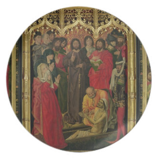 Resurrection of Lazarus Triptych; The Raising of L Plate