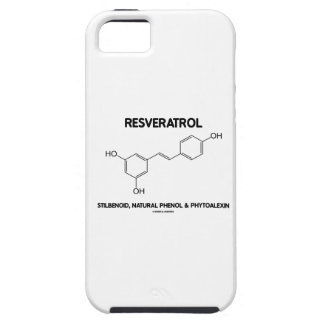 Resveratrol Stilbenoid Natural Phenol Phytoalexin iPhone 5 Case