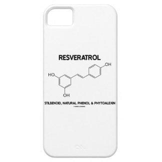 Resveratrol Stilbenoid Natural Phenol Phytoalexin iPhone 5 Cover