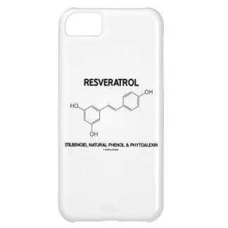 Resveratrol Stilbenoid Natural Phenol Phytoalexin iPhone 5C Covers