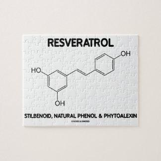 Resveratrol Stilbenoid Natural Phenol Phytoalexin Jigsaw Puzzles