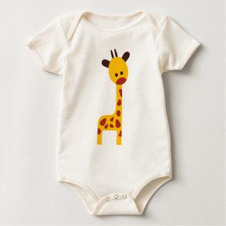 RetABCanimalsP7 Baby Bodysuit