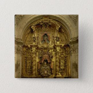 Retable of the Sacrament Chapel Pinback Button