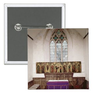 Retable que representa la crucifixión con ocho pin cuadrada 5 cm