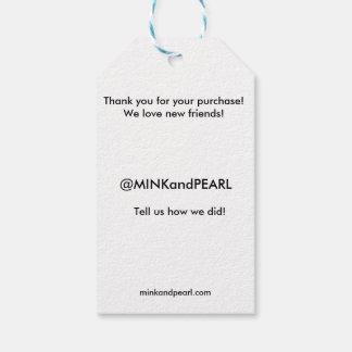 Retail Greeting Tag   Social Media Tag