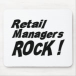 Retail Managers Rock! Mousepad