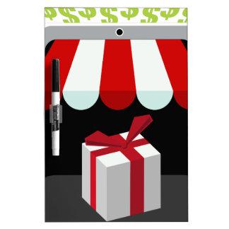 Retail Mobile Purchase Icon Dry-Erase Board