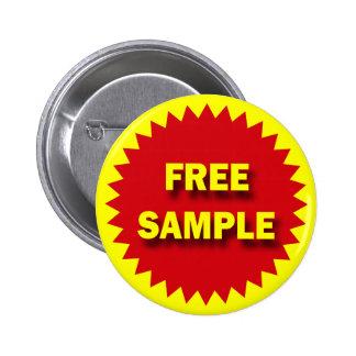 RETAIL SALE BADGE - FREE SAMPLE 2 INCH ROUND BUTTON